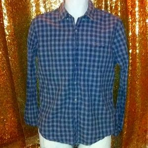 American eagle button up dress shirt